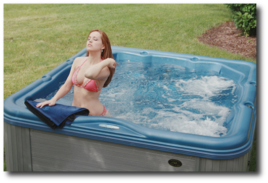 Encore LS-summer relaxation Nordic Hot Tubs
