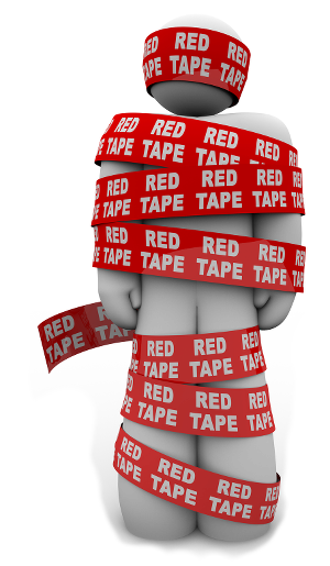 Government red tape and regulations