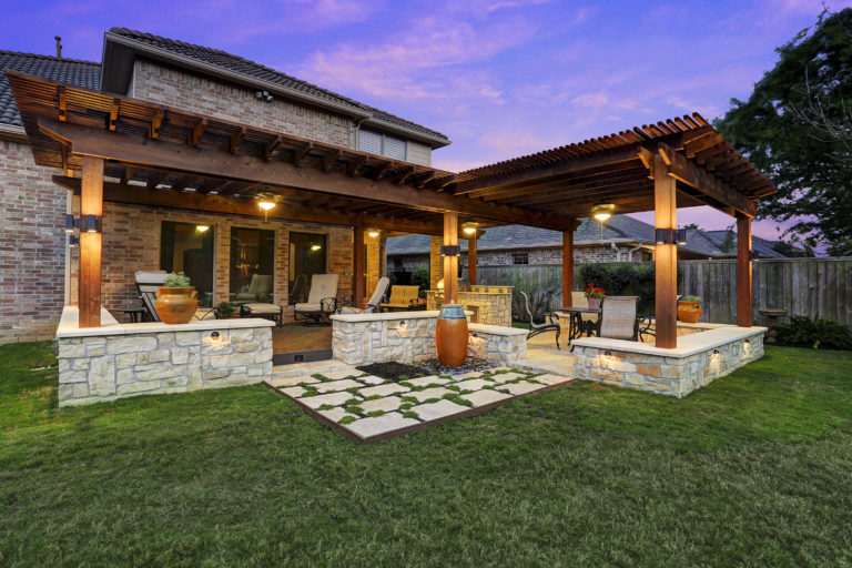Casual Patio designs & installs custom patios and gazebos at your Houston TX home.